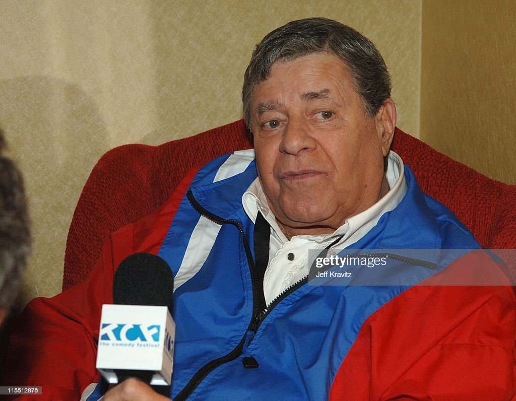Jerry Lewis *Exclusive Coverage* during The Comedy Festival - The Founders of Comedy with Larry King - Green Room at Flamingo Showroom at Caesars Palace in Las Vegas, Nevada, United States.