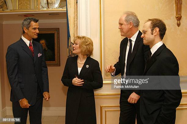 Jerry Mitchell Jane Curtin John Lithgow and David Hyde Pierce attend National Corporate Theatre Fund 2005 Annual Chairman Awards Gala at Essex House...