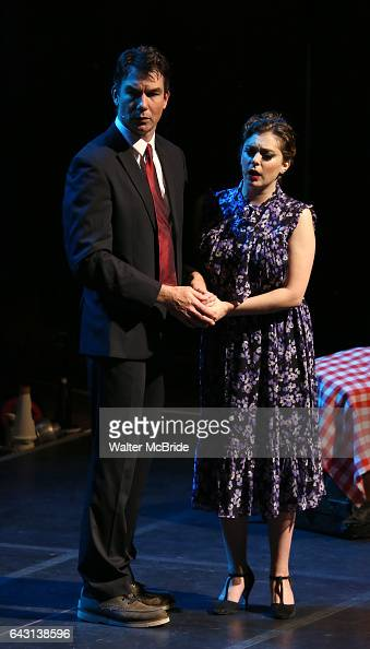 Jerry O'Connell and Rachel Bloom during the Manhattan Concert Productions 25th Anniversary concert performance of 'Crazy for You' at David Geffen...