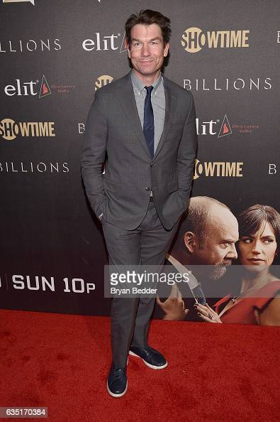 Jerry O'Connell attends the Showtime and Elit Vodka hosted BILLIONS Season 2 premiere and party held at Cipriani's in New York City on February 13...