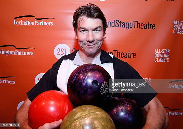 Jerry O'Connell attends29th Annual AllStar Bowling Classic at Lucky Strike on January 25 2016 in New York City
