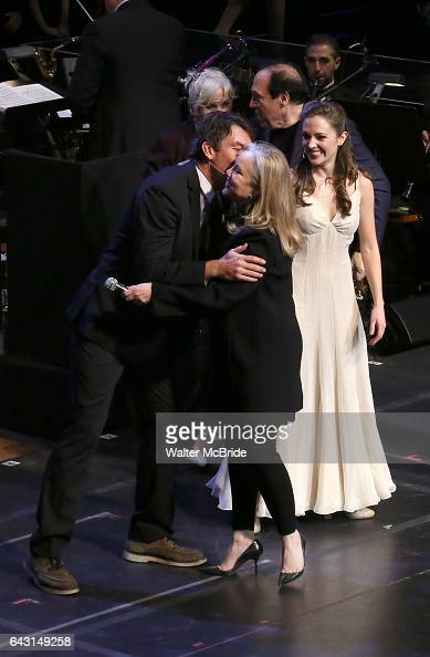 Jerry OÕConnell Susan Stroman and Laura Osnes during the Manhattan Concert Productions 25th Anniversary concert performance of 'Crazy for You' at...