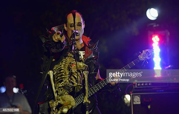 Jerry Only of the Misfits at the 2014 Gibson Brands AP Music Awards at the Rock and Roll Hall of Fame and Museum on July 21 2014 in Cleveland Ohio