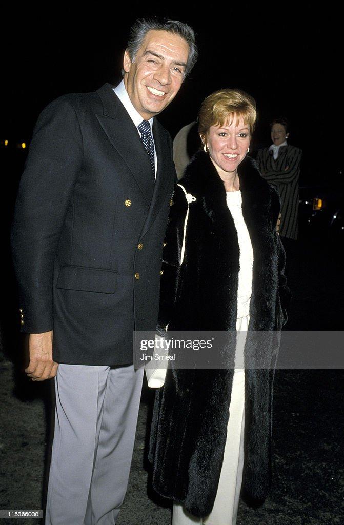 Jerry Orbach and Elaine Orbach at Spago's Restaurant, Hollywood - January 7,