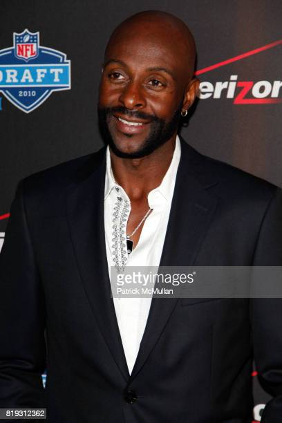 Jerry Rice attends NFL and VERIZON Celebrate Draft Eve at Abe and Arthur's on April 21 2010 in New York City