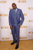 Jerry Rice attends the 2015 CBS Upfront at The Tent at Lincoln Center on May 13 2015 in New York City