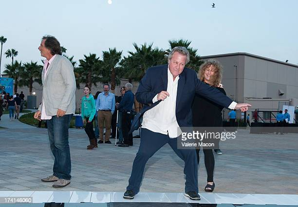 Jerry Ross John Heard and Anne Spielberg attend The Academy Of Motion Picture Arts And Sciences' Oscars Outdoors Screening Of 'Big' on July 20 2013...