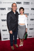 Jerry Seinfeld and Jessica Seinfeld attend 'The Tanning of America One Nation Under Hip Hop' at The Paley Center for Media on February 20 2014 in New...