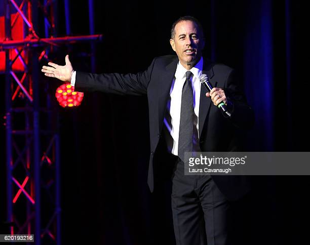 Jerry Seinfeld attends 10th Annual Stand Up For Heroes Show at The Theater at Madison Square Garden on November 1 2016 in New York City