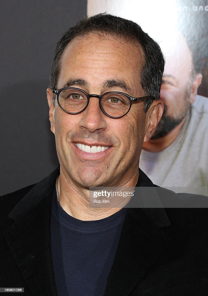 <a gi-track='captionPersonalityLinkClicked' href=/galleries/search?phrase=Jerry+Seinfeld&family=editorial&specificpeople=210541 ng-click='$event.stopPropagation()'>Jerry Seinfeld</a> attends 'Enough Said' New York Screening at Paris Theater on September 16, 2013 in New York City.
