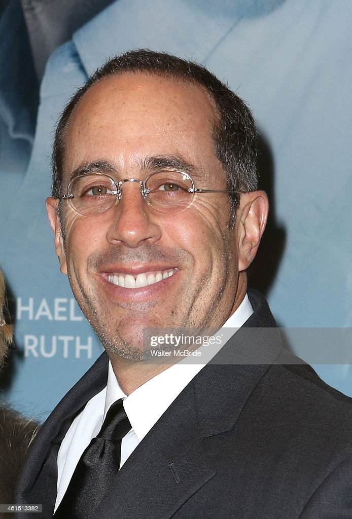 <a gi-track='captionPersonalityLinkClicked' href=/galleries/search?phrase=Jerry+Seinfeld&family=editorial&specificpeople=210541 ng-click='$event.stopPropagation()'>Jerry Seinfeld</a> attends the Broadway Opening Night Performance of The Manhattan Theatre Club's production of 'Constellations' at the Samuel J. Friedman Theatre on January 13, 2015 in New York City.