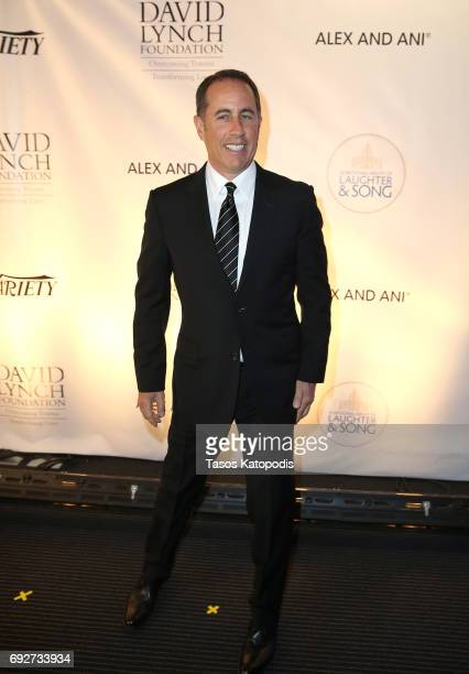 Jerry Seinfeld attends the National Night Of Laughter And Song event hosted by David Lynch Foundation at the John F Kennedy Center for the Performing...