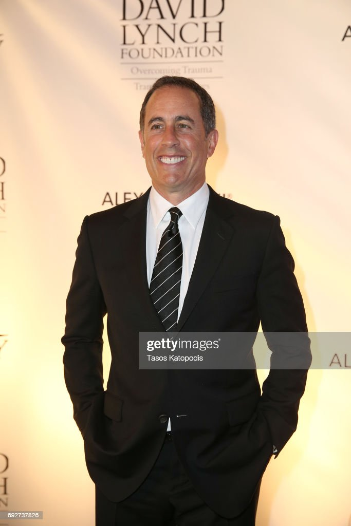 Jerry Seinfeld attends the National Night Of Laughter And Song event hosted by David Lynch Foundation at the John F. Kennedy Center for the Performing Arts on June 5, 2017 in Washington, DC.