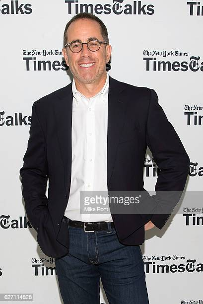 Jerry Seinfeld attends the TimesTalks at The New School on December 1 2016 in New York City
