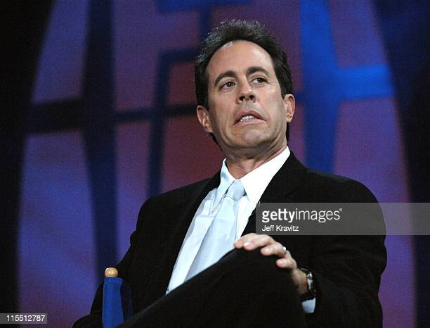 Jerry Seinfeld during The Comedy Festival Honoring Jerry Seinfeld Show at Palace Ballroom at Caesars Palace in Las Vegas Nevada United States