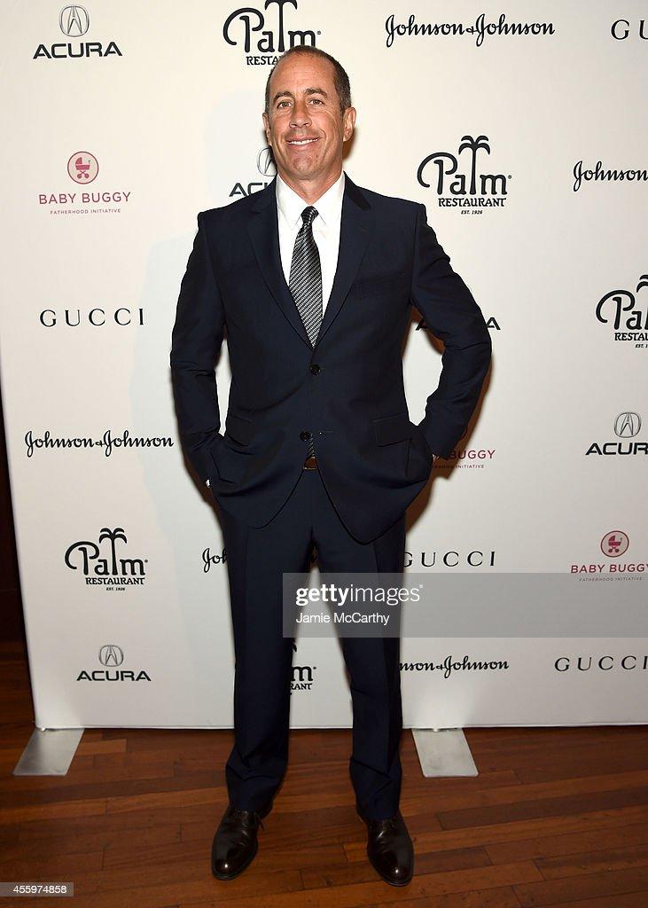 Jerry Seinfeld hosts lunch to support the Baby Buggy Fatherhood Initiative sponsored by Acura Gucci and Johnson Johnson at The Palm Tribeca on...