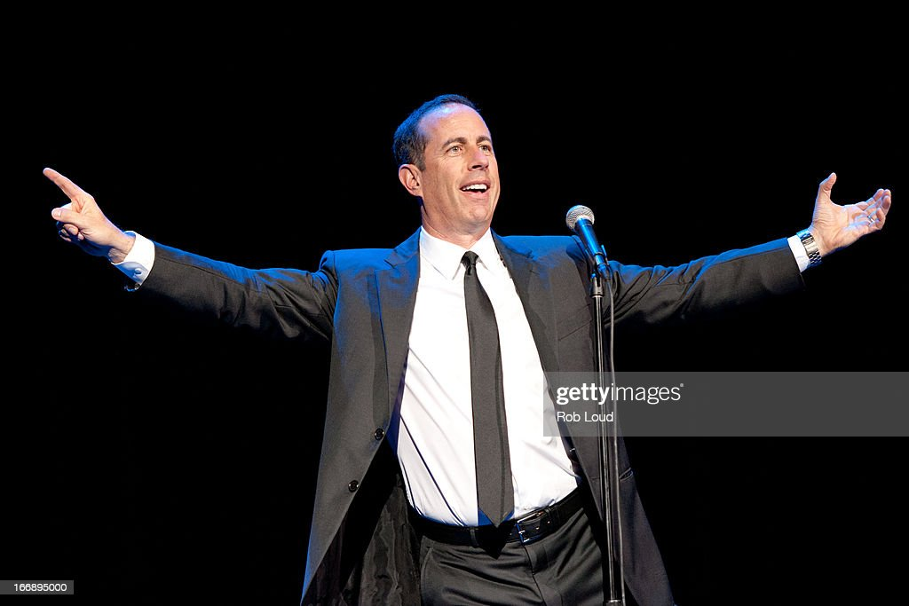 <a gi-track='captionPersonalityLinkClicked' href=/galleries/search?phrase=Jerry+Seinfeld&family=editorial&specificpeople=210541 ng-click='$event.stopPropagation()'>Jerry Seinfeld</a> performs at Stand Up For a Cure at Madison Square Garden on April 17, 2013 in New York City.