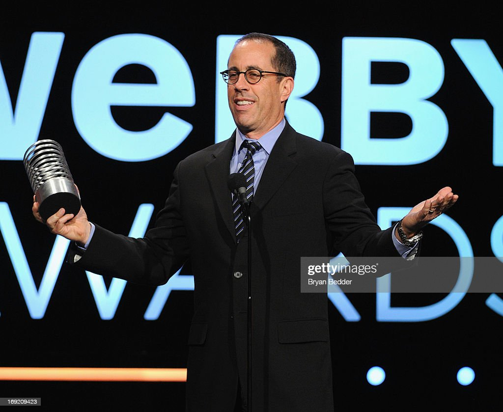 <a gi-track='captionPersonalityLinkClicked' href=/galleries/search?phrase=Jerry+Seinfeld&family=editorial&specificpeople=210541 ng-click='$event.stopPropagation()'>Jerry Seinfeld</a> speaks onstage at the 17th Annual Webby Awards at Cipriani Wall Street on May 21, 2013 in New York City.