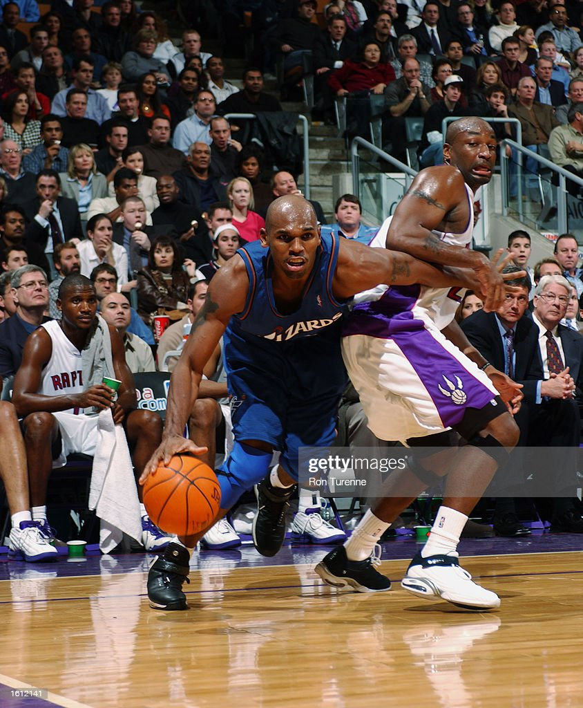 Jerry Stackhouse drives