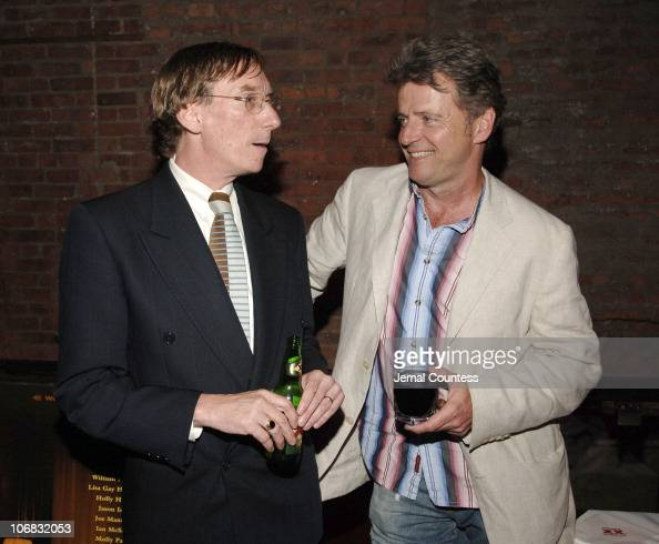 Jerry Stopffhaan and Aidan Quinn during Premiere of Magnolia Pictures' 'Nine Lives' Kicks Off IFP's Independent Film Week After Party at Spirit...