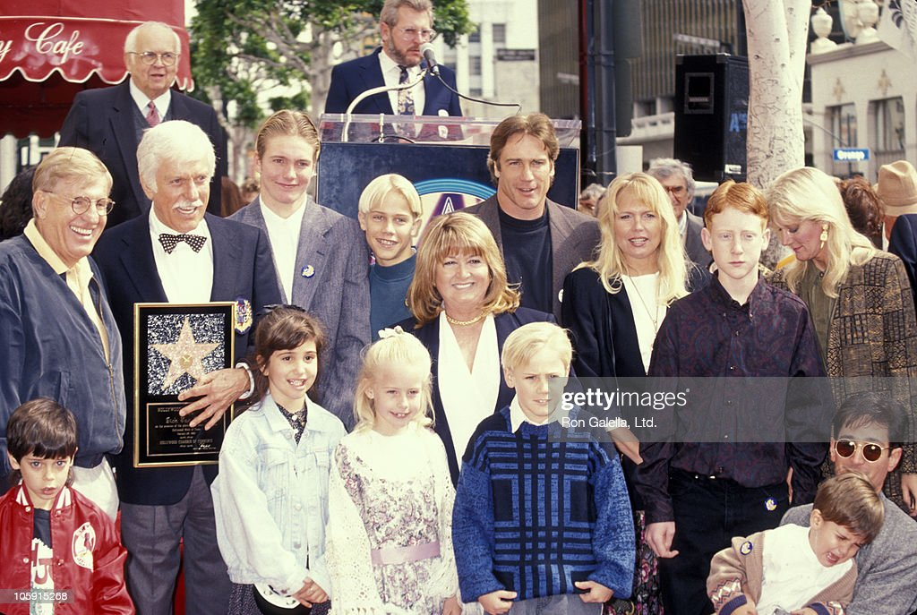 Jerry Van Dyke Dick Van Dyke and family during Dick Van Dyke Honored with a Star on the Hollywood Walk of Fame at 7021 Hollywood Blvd in Hollywood...
