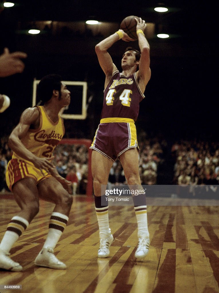 Jerry West of the Los Angeles Lakers.