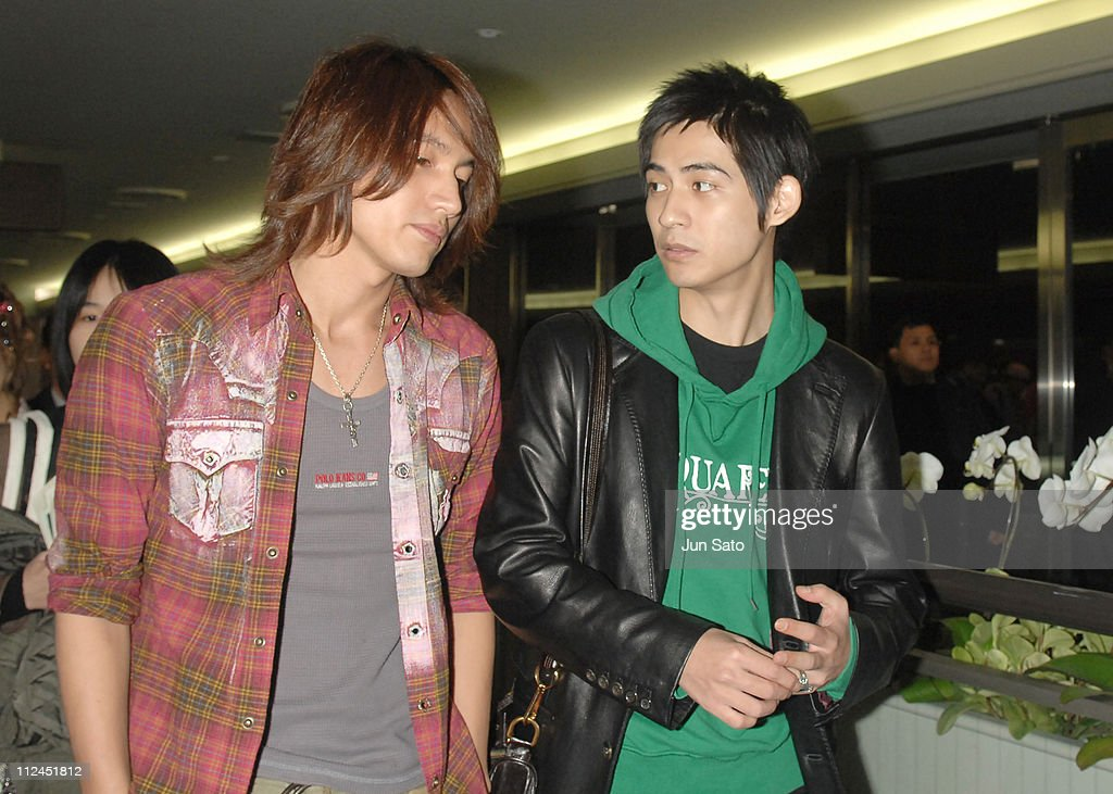 F4 Arrives in Tokyo to Promote Taiwanese Tourism - March 6, 2007