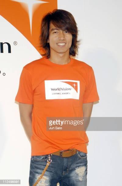 Jerry Yan during Jerry Yan Supports Children's Charity 'World Vision' Presscall November 11 2006 at Wesleyan Holiness Yodobashi Church in Tokyo Japan