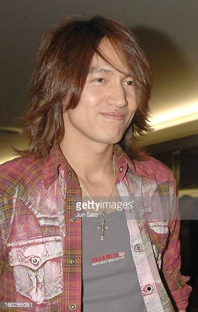 Jerry Yan of F4 during F4 Arrives in Tokyo to Promote Taiwanese Tourism March 6 2007 at Narita International Airport in Narita Japan