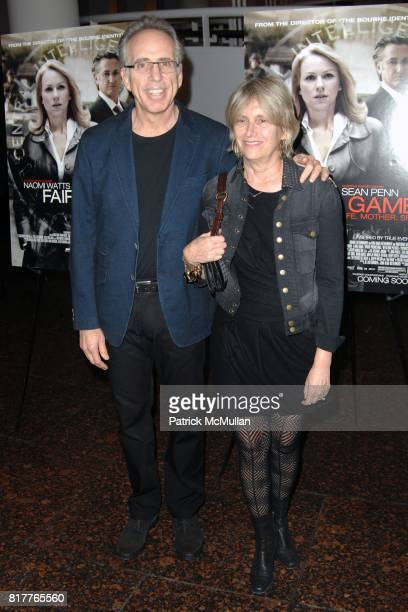 Jerry Zucker and Janet Zucker attend Los Angeles Special Screening of FAIR GAME at Simon Wiesenthal's Museum of Tolerance on October 24 2010 in Los...
