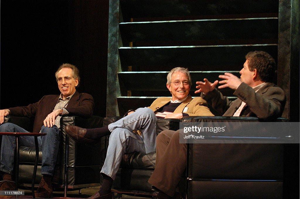 Jerry Zucker, Jim Abrahams and David Zucker during The 10th Annual U.S. Comedy Arts Festival - AFI Filmmaker Award at Wheeler Opera House in Aspen, Colorado, United States.