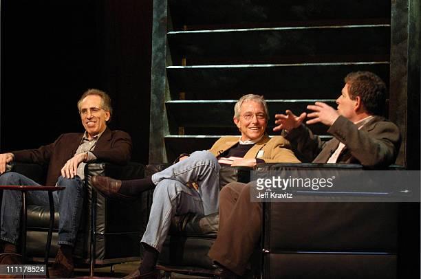 Jerry Zucker Jim Abrahams and David Zucker during The 10th Annual US Comedy Arts Festival AFI Filmmaker Award at Wheeler Opera House in Aspen...