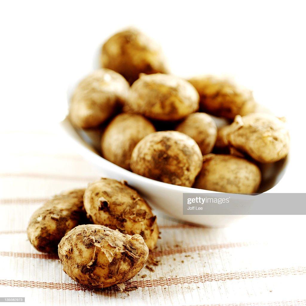 Jersey new potatoes