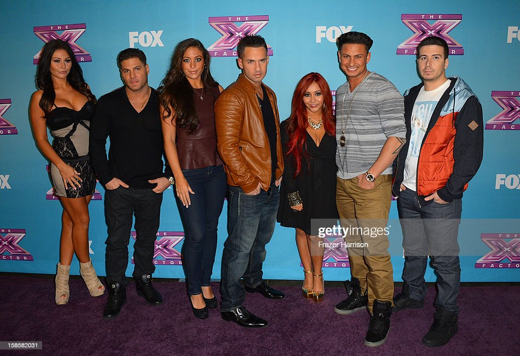Jersey Shore cast Jenni 'Jwoww' Farley Ronnie OrtizMagro Sammi 'Sweetheart' Giancola Mike 'The Situation' Sorrentino Nicole 'Snooki' PolizziPaul...