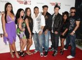 'Jersey Shore' cast members Jenni 'JWoww' Farley Angelina Pivarnick Sammi ÒSweetheartÓ Giancola Ronnie OrtizMagro Paul 'Pauly D' DelVecchio Vinny...