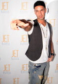 Jersey Shore's Mike 'The Situation' Sorrentino hosts at Jet Nightclub at The Mirage on January 22 2010 in Las Vegas Nevada