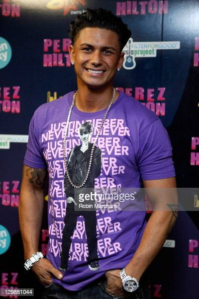 Jersey Shore's Paul 'Pauly D' DelVecchio attends Perez Hilton's 'One Night in New York City' at the Hammerstein Ballroom on October 20 2011 in New...