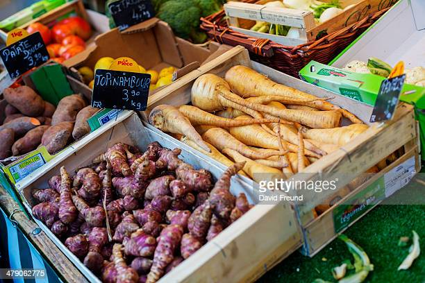Jerusalem artichoke or topinambour
