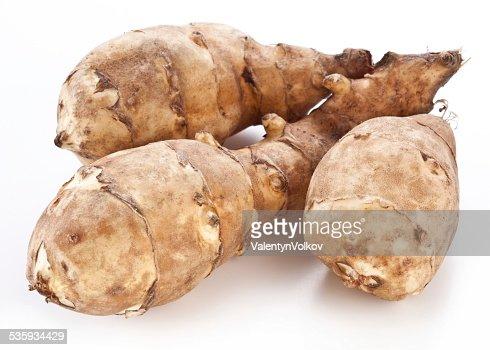 Jerusalem artichoke : Stock Photo