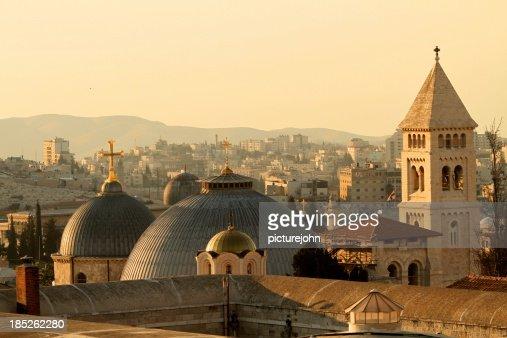 Jerusalem Churches on the Skyline