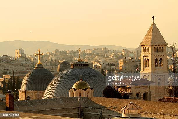 Jerusalem Churches on the Skyline