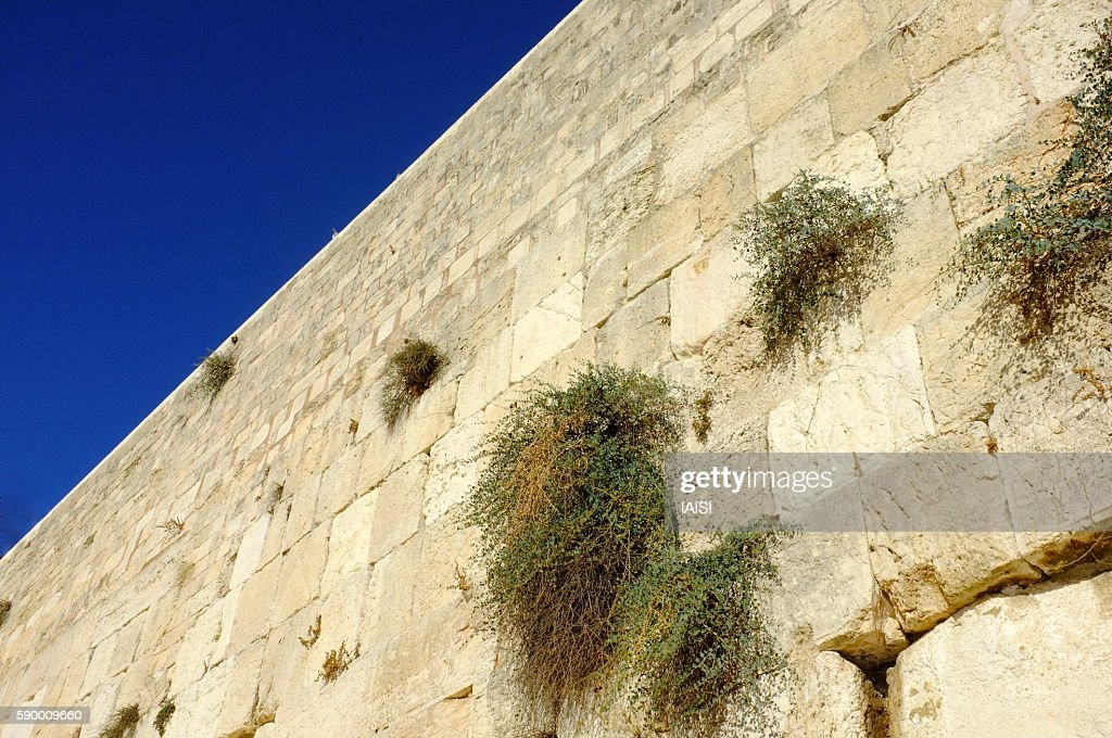 Jerusalem, the blue hour at the Western Wall