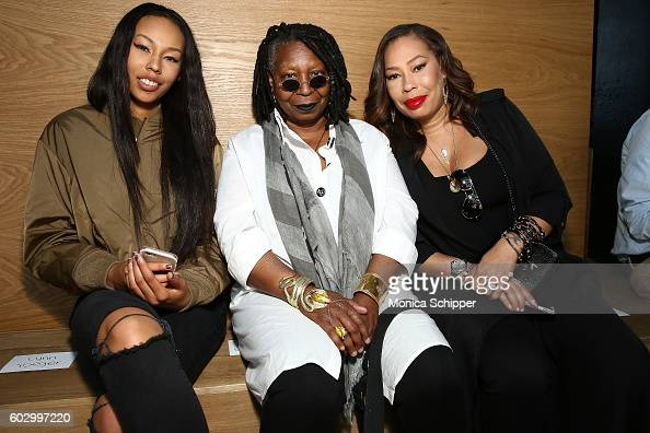 Jerzey Dean Whoopi Goldberg and Alex Martin attend the Gypsy Sport fashion show during New York Fashion Week September 2016 at Samsung 837 on...