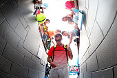 Jerzy Janowicz of Poland walks off the court after losing to John Isner of the United States in the first round during day two of the 2016 Australian...