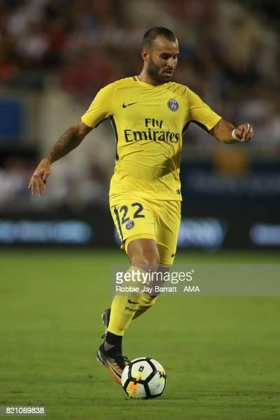 Jese of Paris SaintGermain during the International Champions Cup match between Paris SaintGermain and Tottenham Hotspur on July 22 2017 in Orlando...