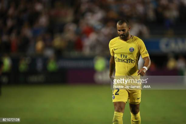 Jese of Paris SaintGermain walks off dejected during the International Champions Cup match between Paris SaintGermain and Tottenham Hotspur on July...