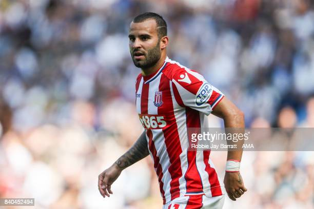 Jese of Stoke City during the Premier League match between West Bromwich Albion and Stoke City at The Hawthorns on August 27 2017 in West Bromwich...