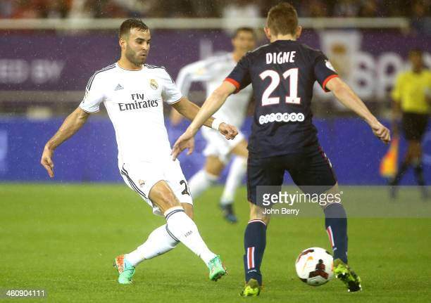 Jese Rodriguez of Real Madrid in action during the friendly match between Paris SaintGermain FC and Real Madrid at the Khalifa Stadium on January 2...