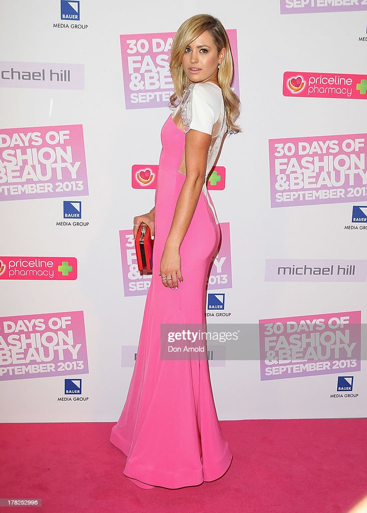 <a gi-track='captionPersonalityLinkClicked' href=/galleries/search?phrase=Jesinta+Campbell&family=editorial&specificpeople=7056645 ng-click='$event.stopPropagation()'>Jesinta Campbell</a> arrives at the 30 Days of Fashion and Beauty launch party at Town Hall on August 28, 2013 in Sydney, Australia.
