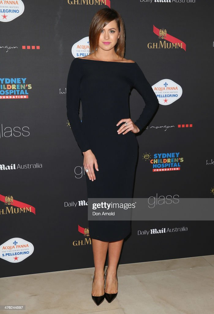 <a gi-track='captionPersonalityLinkClicked' href=/galleries/search?phrase=Jesinta+Campbell&family=editorial&specificpeople=7056645 ng-click='$event.stopPropagation()'>Jesinta Campbell</a> attends the 86th Academy Awards Charity Event at the Hilton Hotel on March 3, 2014 in Sydney, Australia.